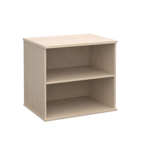 Image for Deluxe desk high bookcase 600mm deep - maple