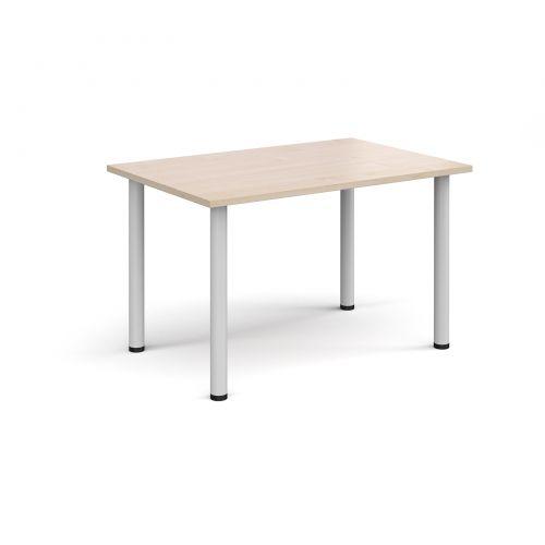 Wondrous Rectangular White Radial Leg Meeting Table 1200Mm X 800Mm Uwap Interior Chair Design Uwaporg