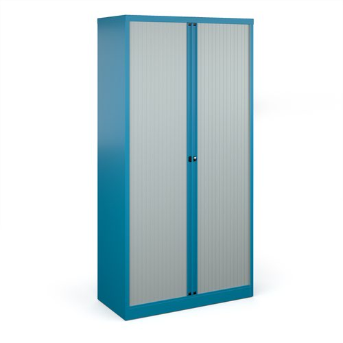 Bisley systems storage tambour cupboard