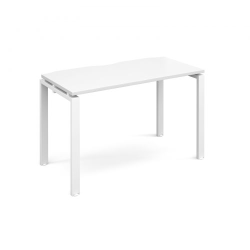 Adapt II starter unit single 1200mm x 600mm - white frame, white top