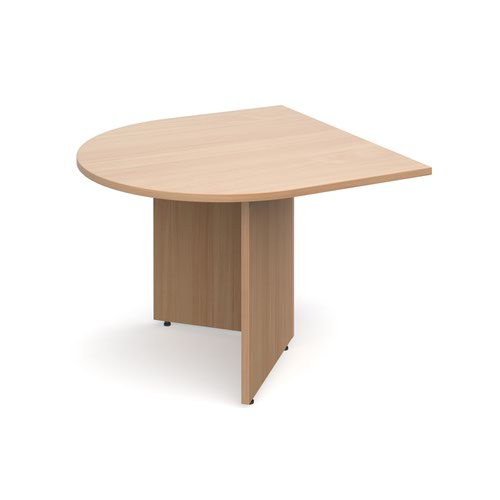 Image for Arrow head leg radial extension table 1000mm x 1000mm - beech