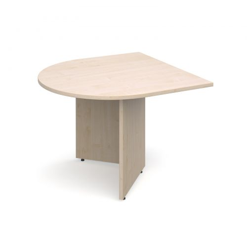 Image for Arrow head leg radial extension table 1000mm x 1000mm - maple