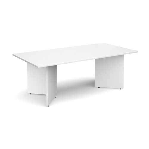 Rectangular Boardroom Table 2000x1000mm White