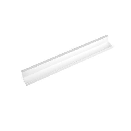 Single desk cable tray for Adapt and Fuze desks 1200mm - white
