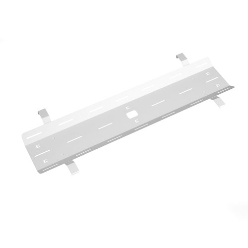 Single desk cable tray for Adapt and Fuze desks 1600mm - white