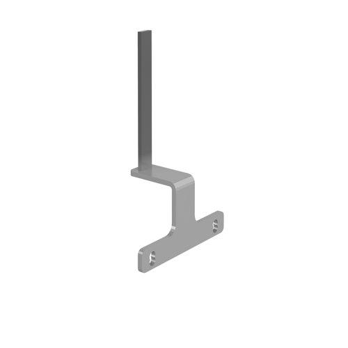 End Leg Screen Bracket Silver (2) EDELSB-S