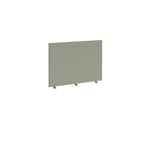 Straight high desktop fabric screen 1000mm x 700mm - hillswick grey