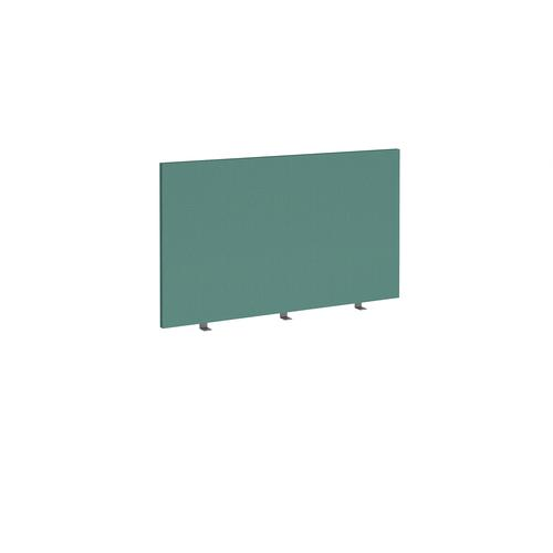 Straight high desktop fabric screen 1200mm x 700mm - carron green