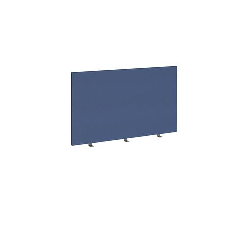 Straight high desktop fabric screen 1200mm x 700mm - cluanie blue