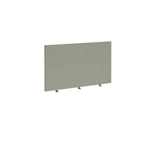 Straight high desktop fabric screen 1200mm x 700mm - hillswick grey