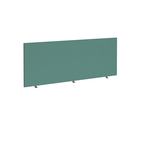 Straight high desktop fabric screen 1800mm x 700mm - carron green