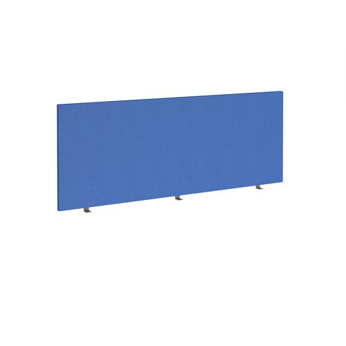Straight high desktop fabric screen 1800mm x 700mm - galilee blue