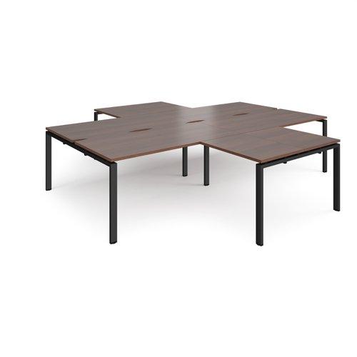 Adapt 4 desk cluster with returns