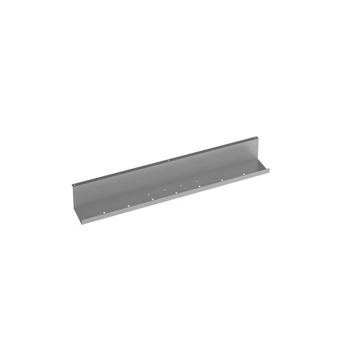 Elev8 upper cable channel 800mm wide for single desks - silver