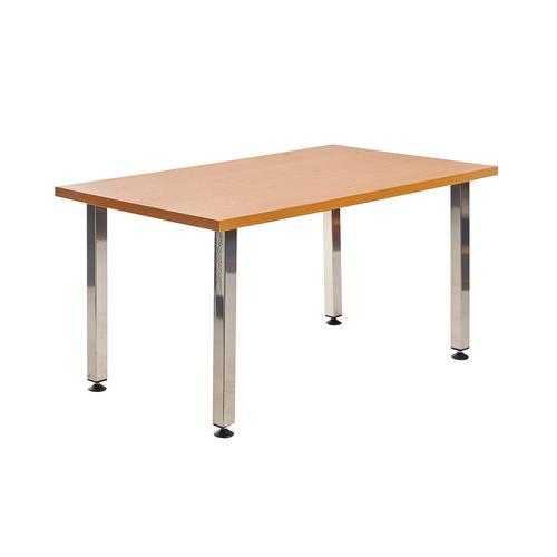 Image for Helsinki rectangular wooden reception table
