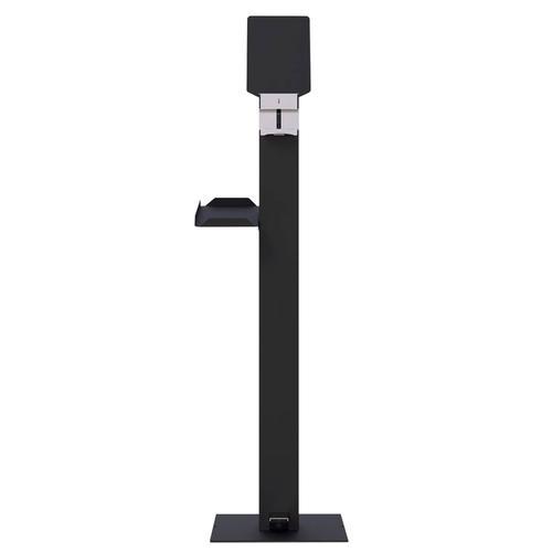Metal gel dispenser - anthracite