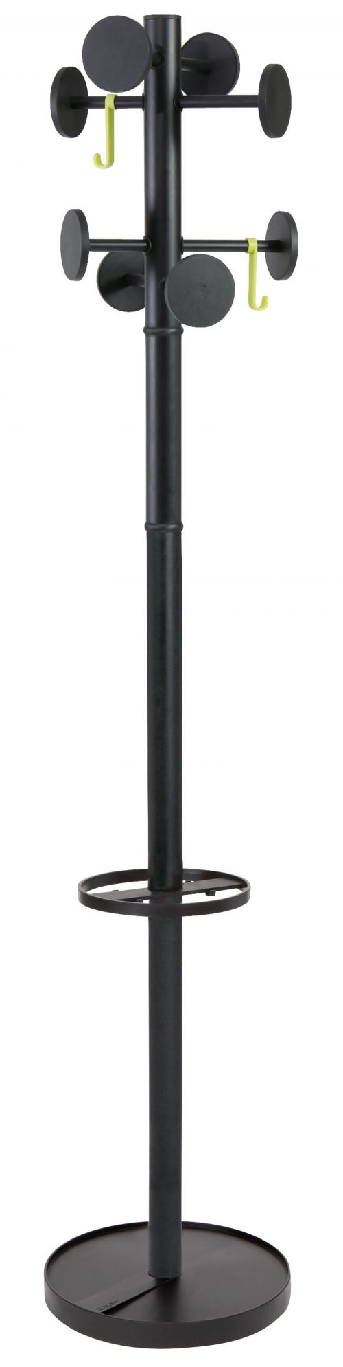 FF Alba Stan Coat Stand Black