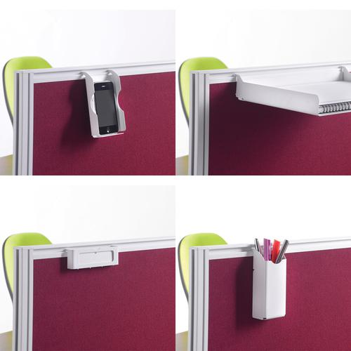 Screen accessories pack for aluminium frames screens - silver