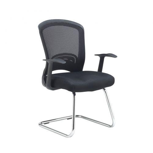 Solaris mesh visitors chair - black