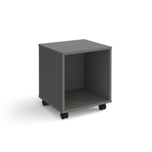 Universal mobile open pedestal 400mm deep - grey