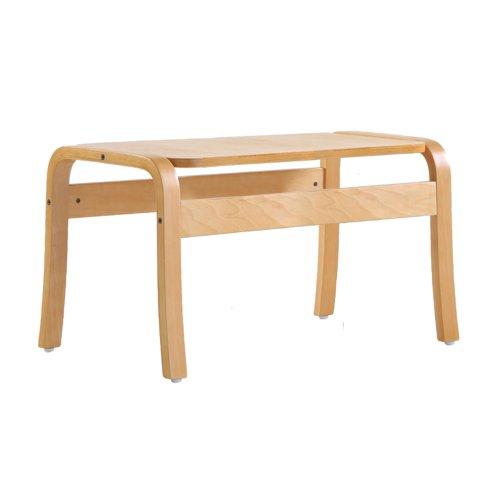 Yealm rectangular table 410mm x 380mm - beech