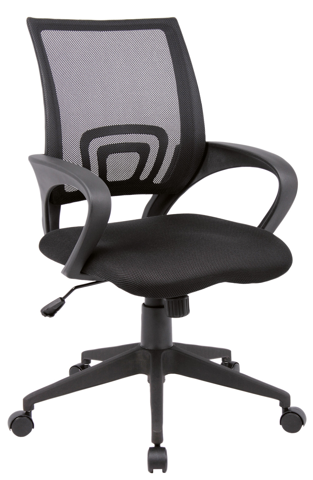 Lincoln Mesh Back Operators Chair Black
