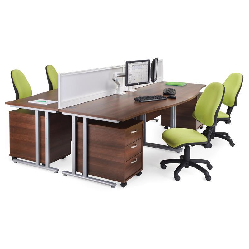 white walnut office furniture. Walnut Office Desks. 3 Drawer Mobile Pedestal - White Desks Furniture O