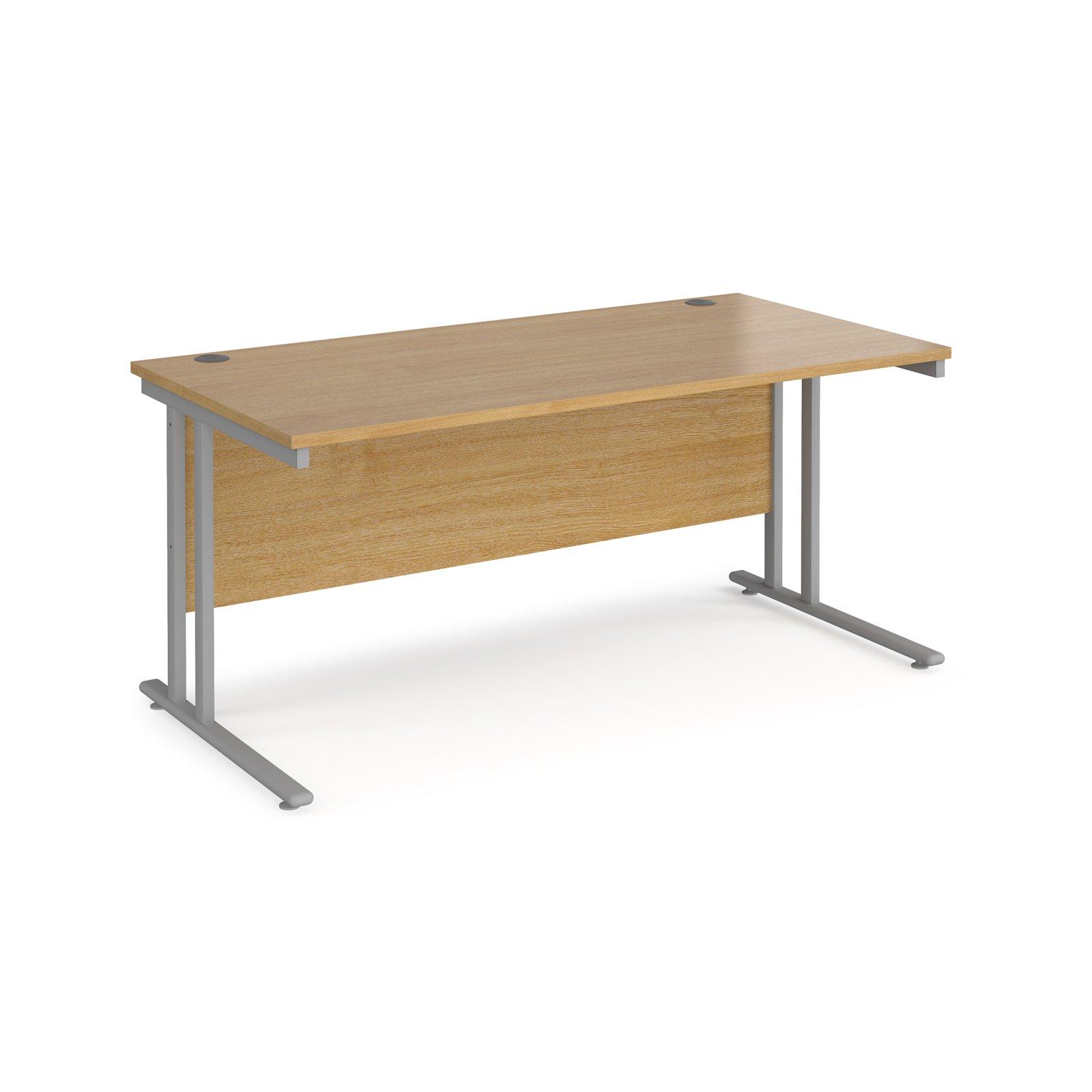 Maestro 25 SL Straight Desk 800mm Deep