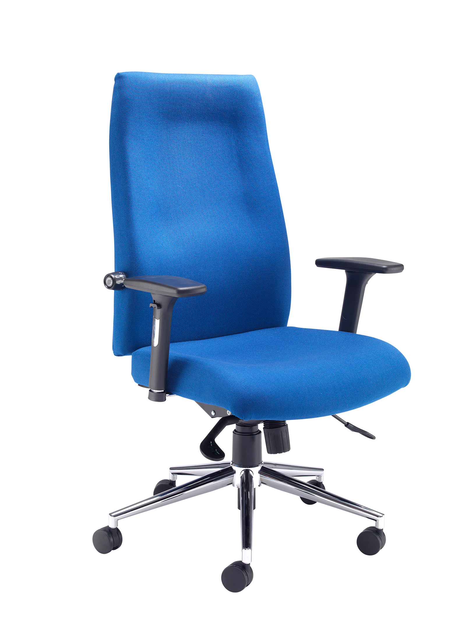 Mode 400 contract high back managers chair - blue