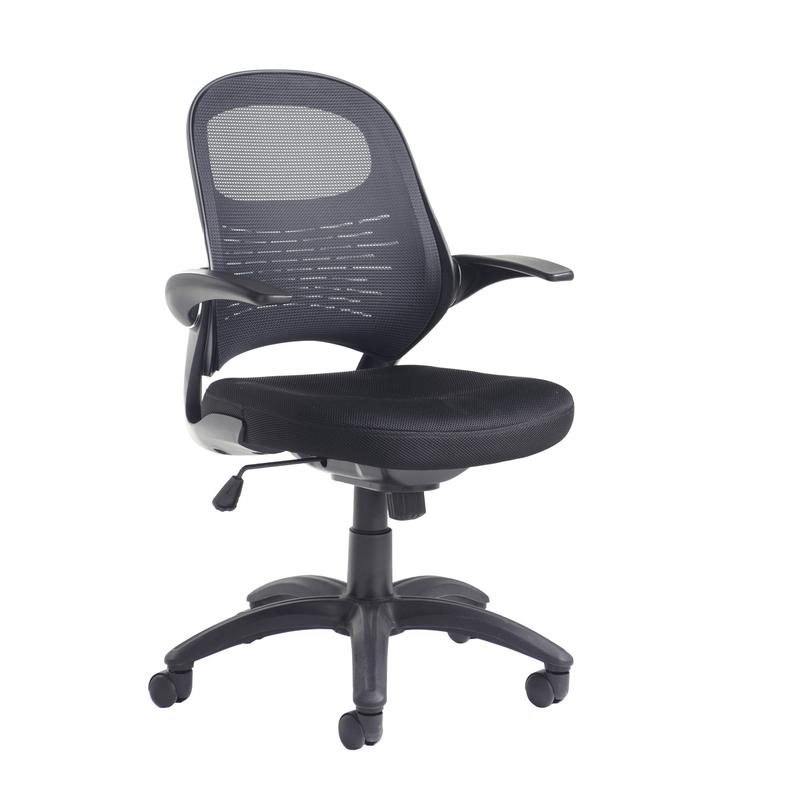 Orion Mesh Back Operators Chair Black