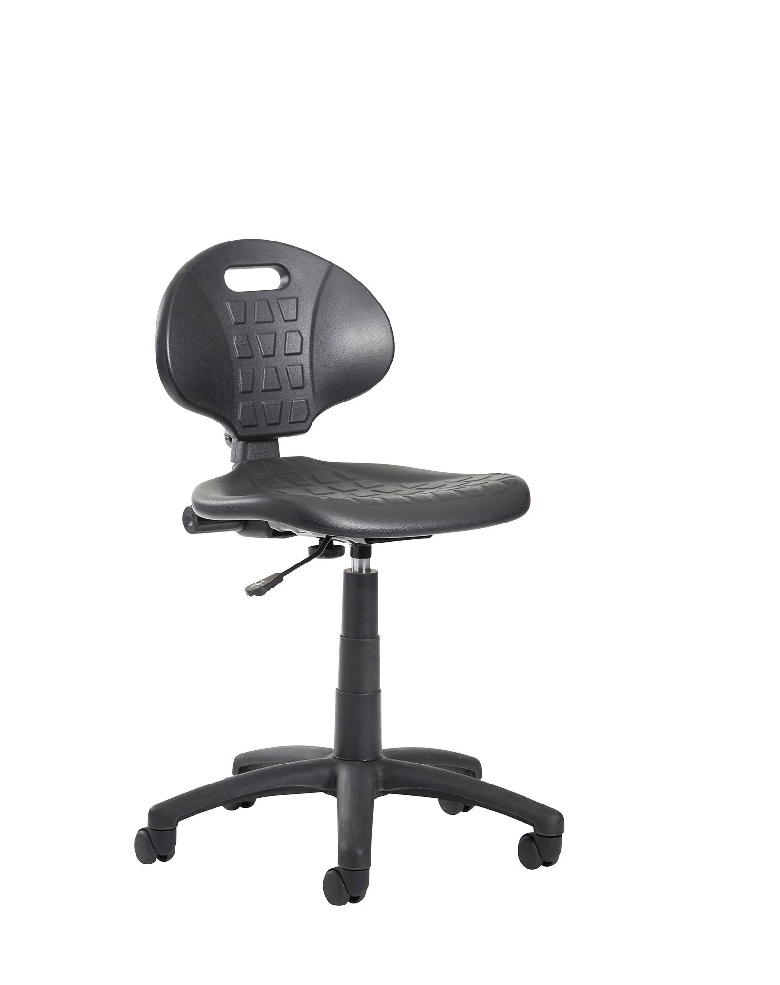 Mid Back Typist Chair-Black