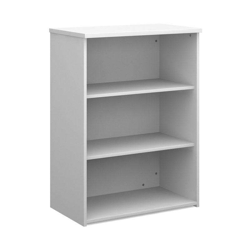 dams 2 shelf bookcase 1090mm white www. Black Bedroom Furniture Sets. Home Design Ideas