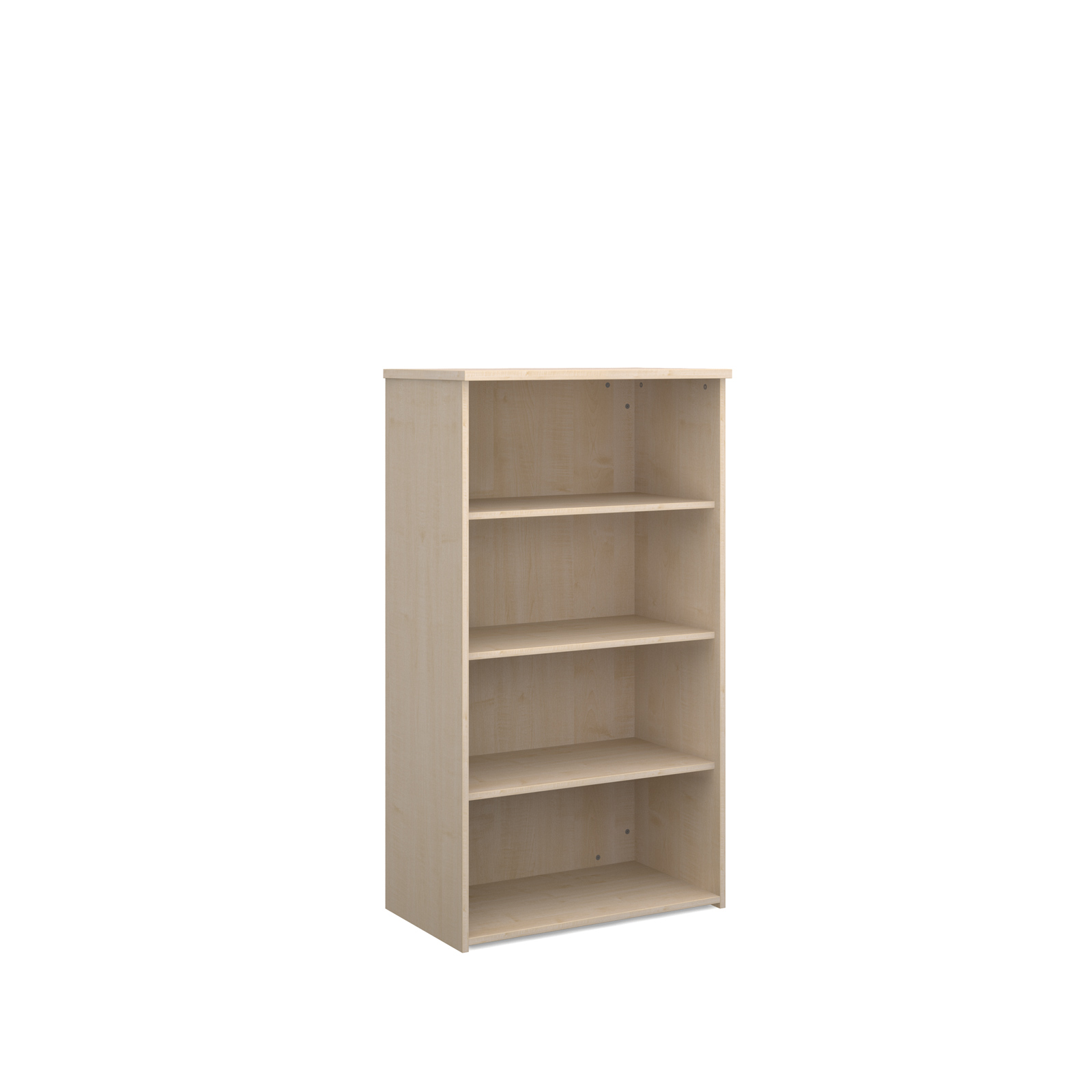 Image for Universal bookcase 1440mm high with 3 shelves - maple