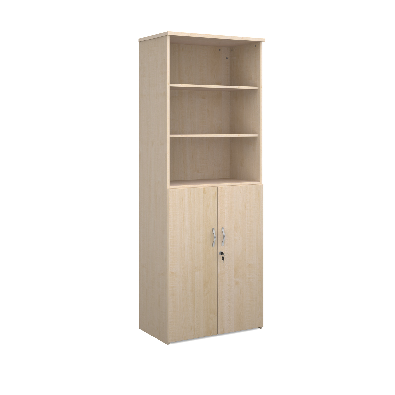 Infinite 2140mm storage unit with open bookcase 2 door for 1 door cupboard