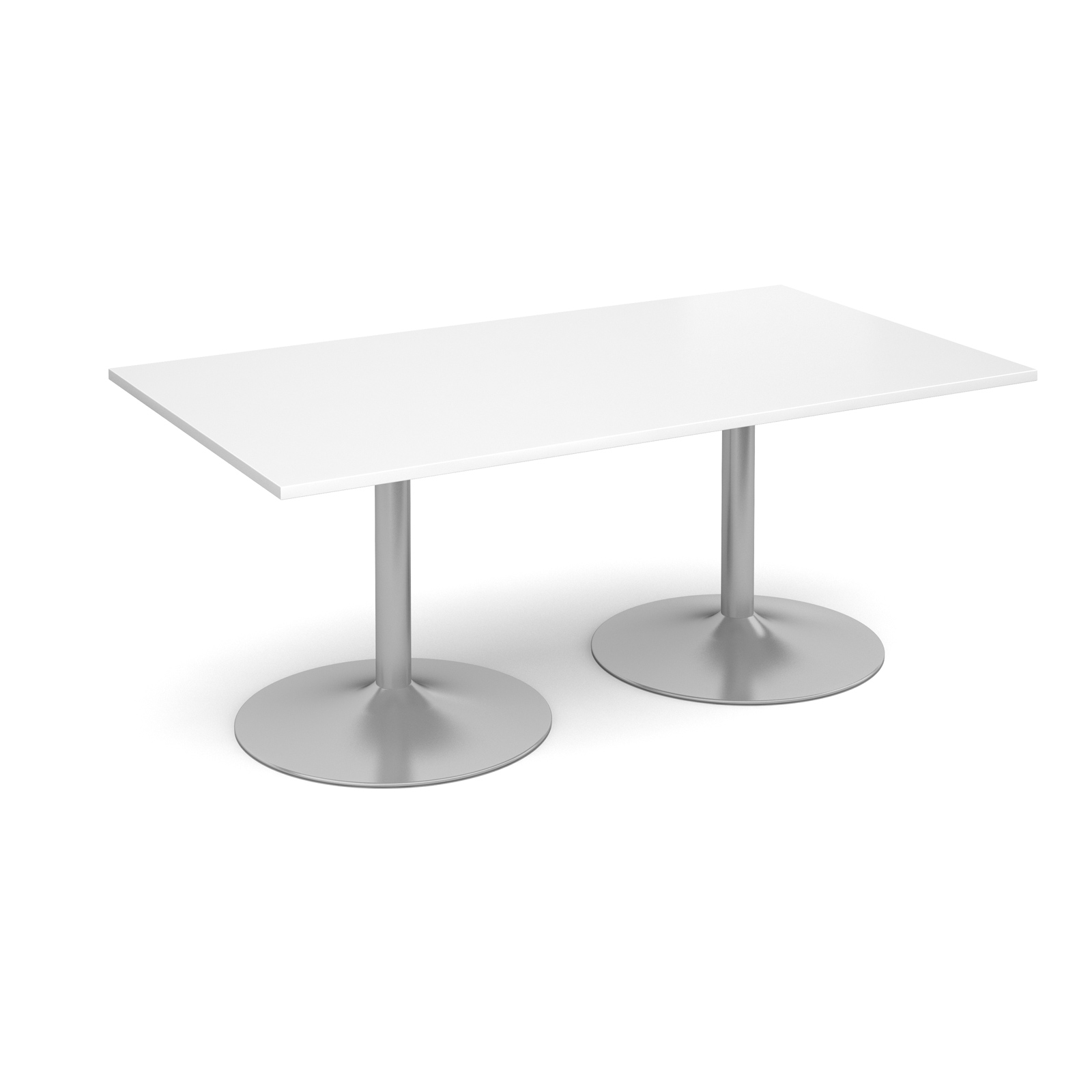 Image for 1800 Rect Trmpt Base B/Room Table 25 Wht