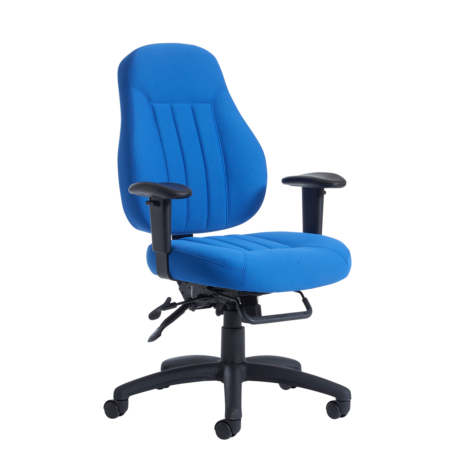 Image for Zeus Medium Back Fabric 24Hr Task Chair