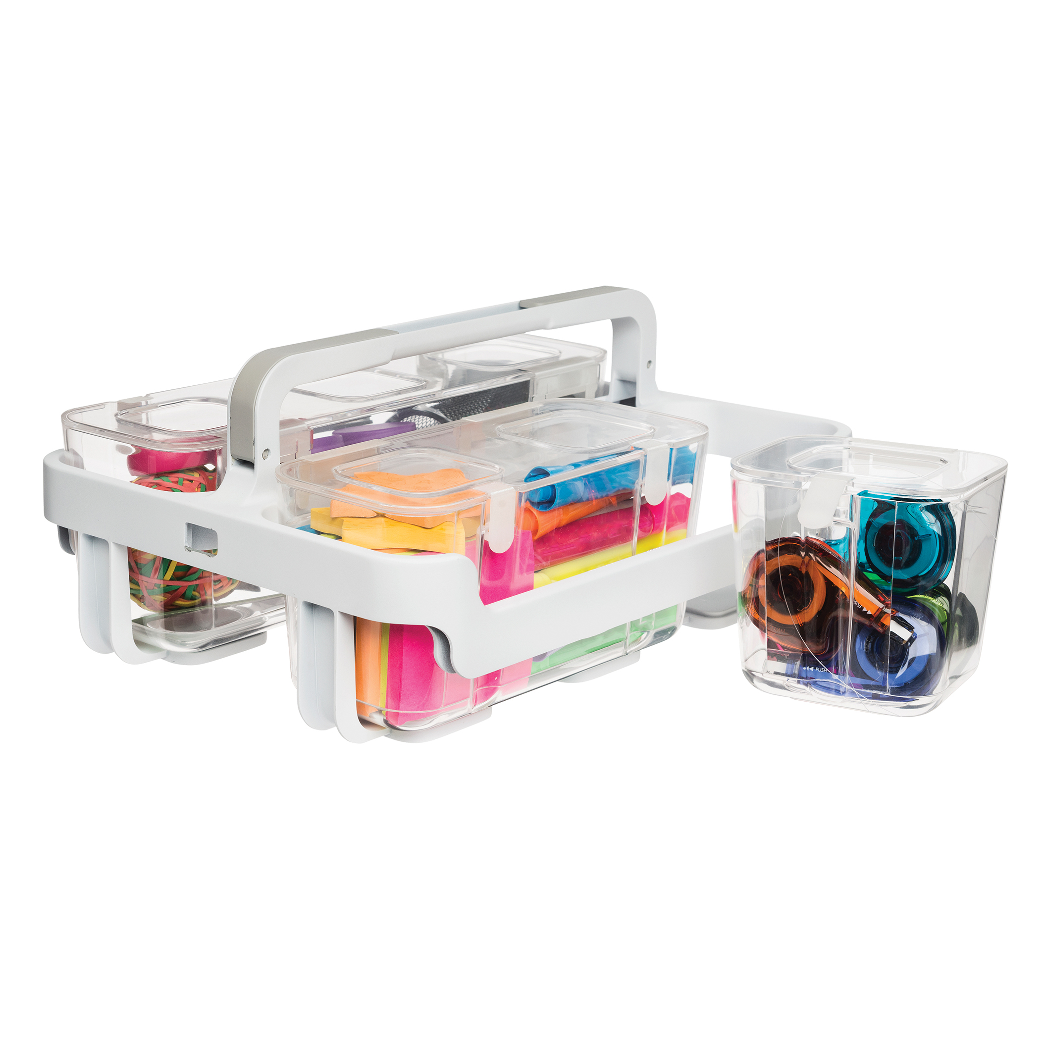 Other Art Supplies Storestack 9 Litre Clear W430xd360xh90mm Storage Box Rb75897