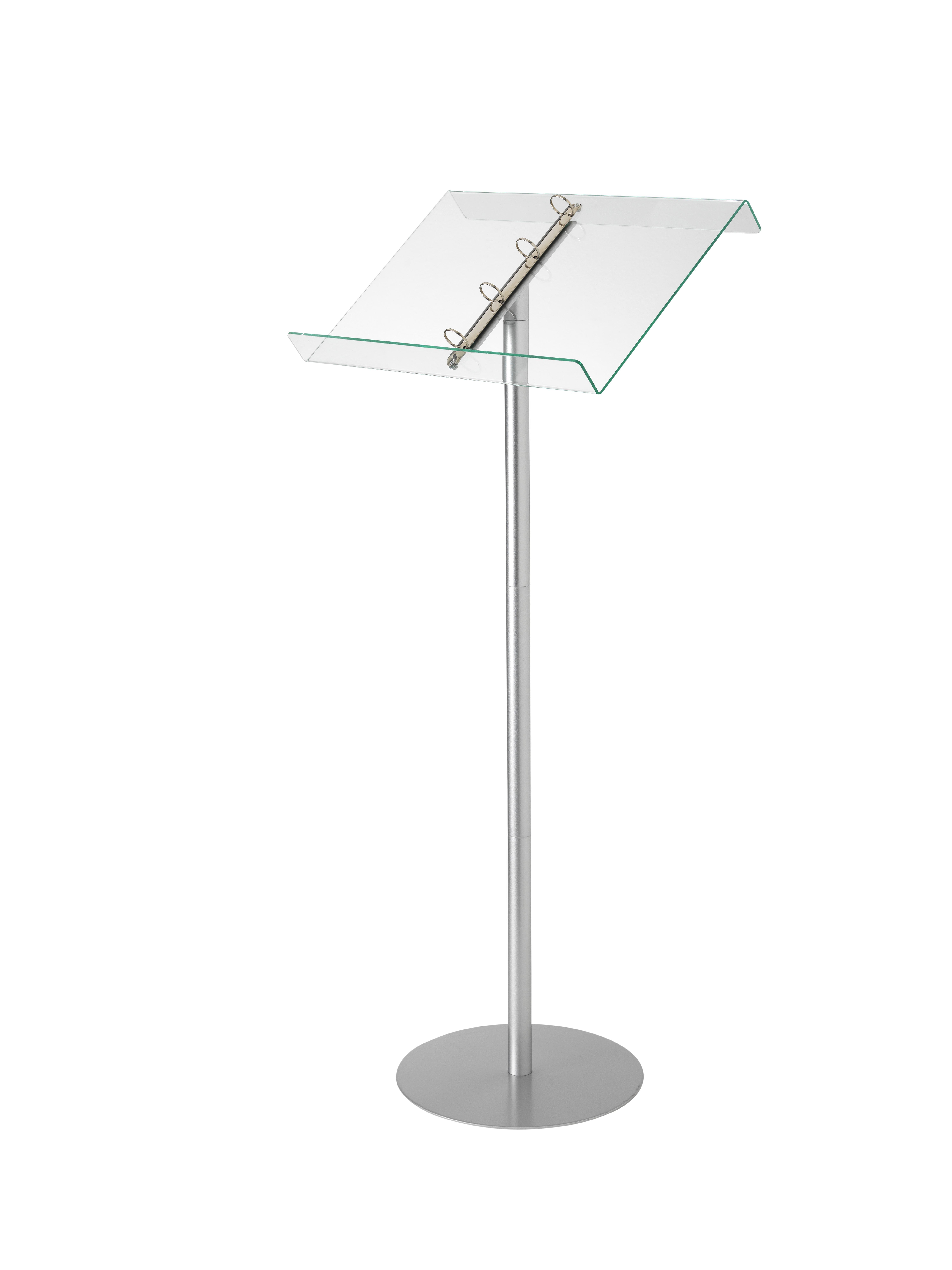 Literature Holders Deflecto Lectern Floor Standing with Ringbinder  Aluminium