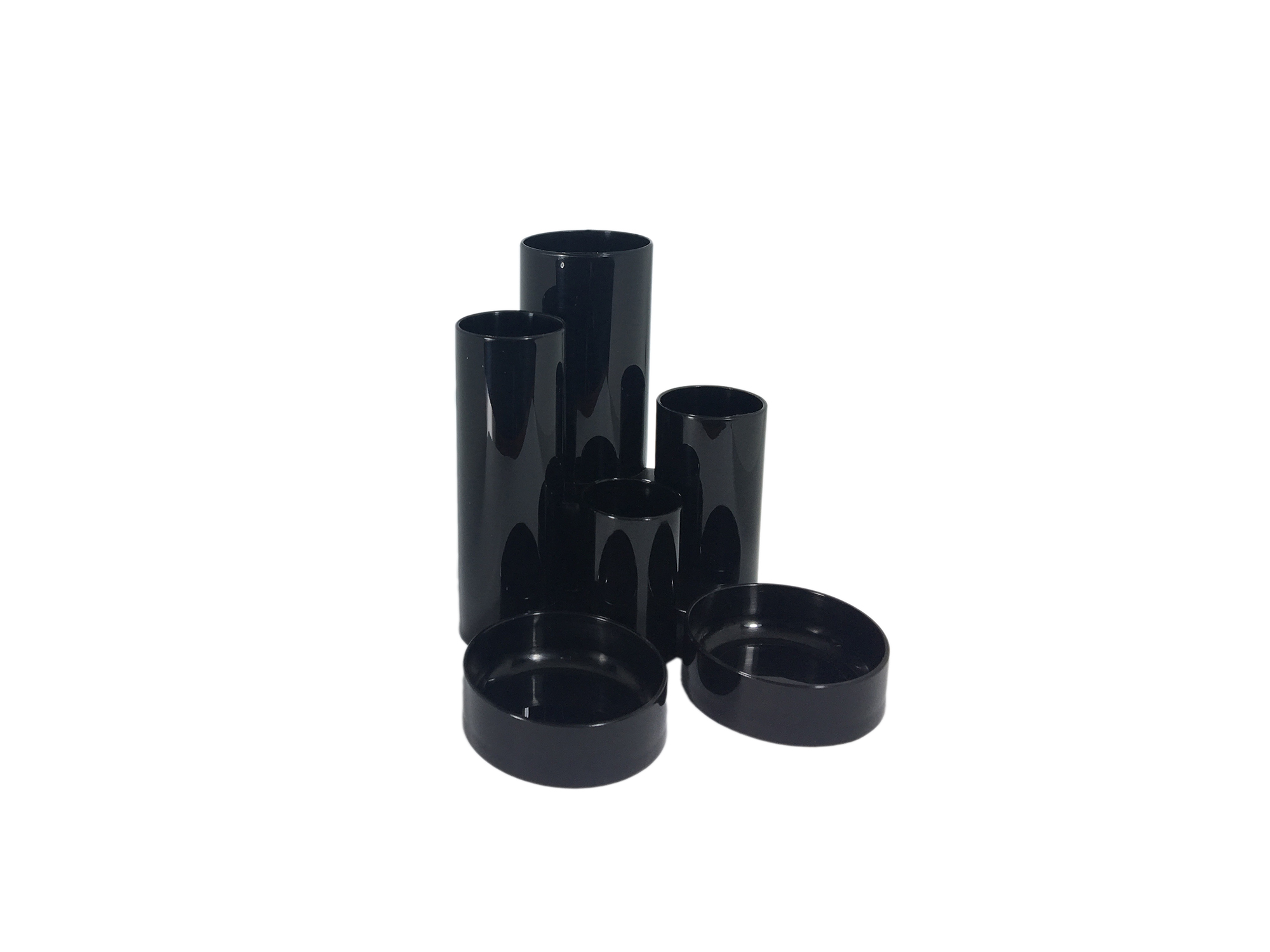 Desk Tidies ValueX Deflecto Tube Tidy Black