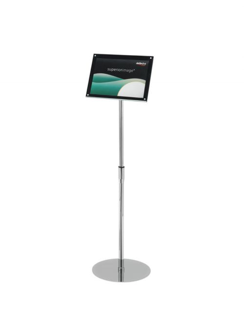 A4 Floor Standing Sign Holder BKBevel
