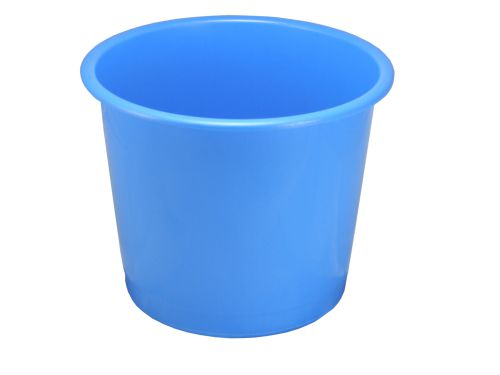 Value 14L Plastic Waste Bin BL