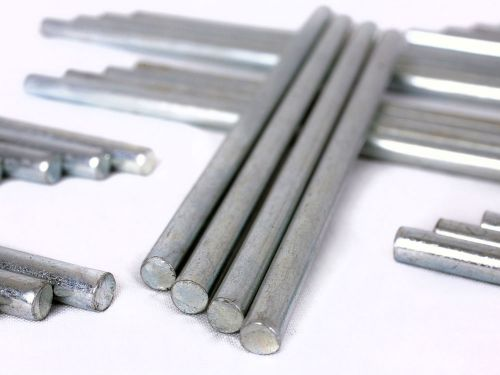 Value Value Deflecto Metal Riser Rods 115mm CP006YT (PK4)