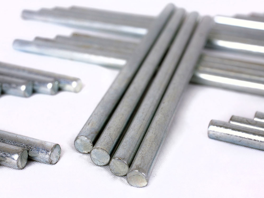 Value Metal Riser Rods 115mm PK4