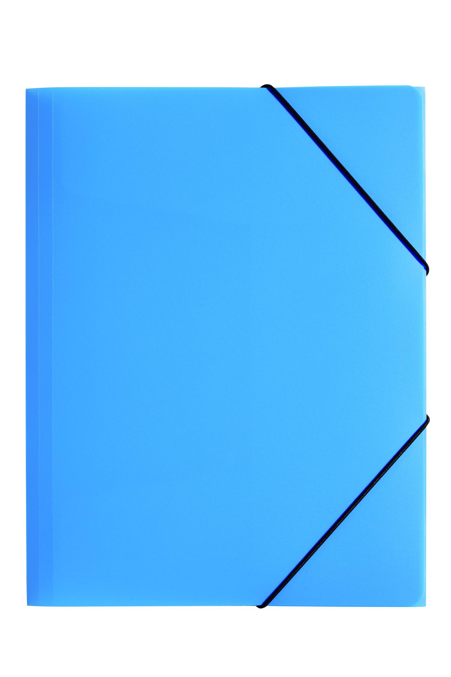 Pagna PP ElasticFolder A4 L/Blue