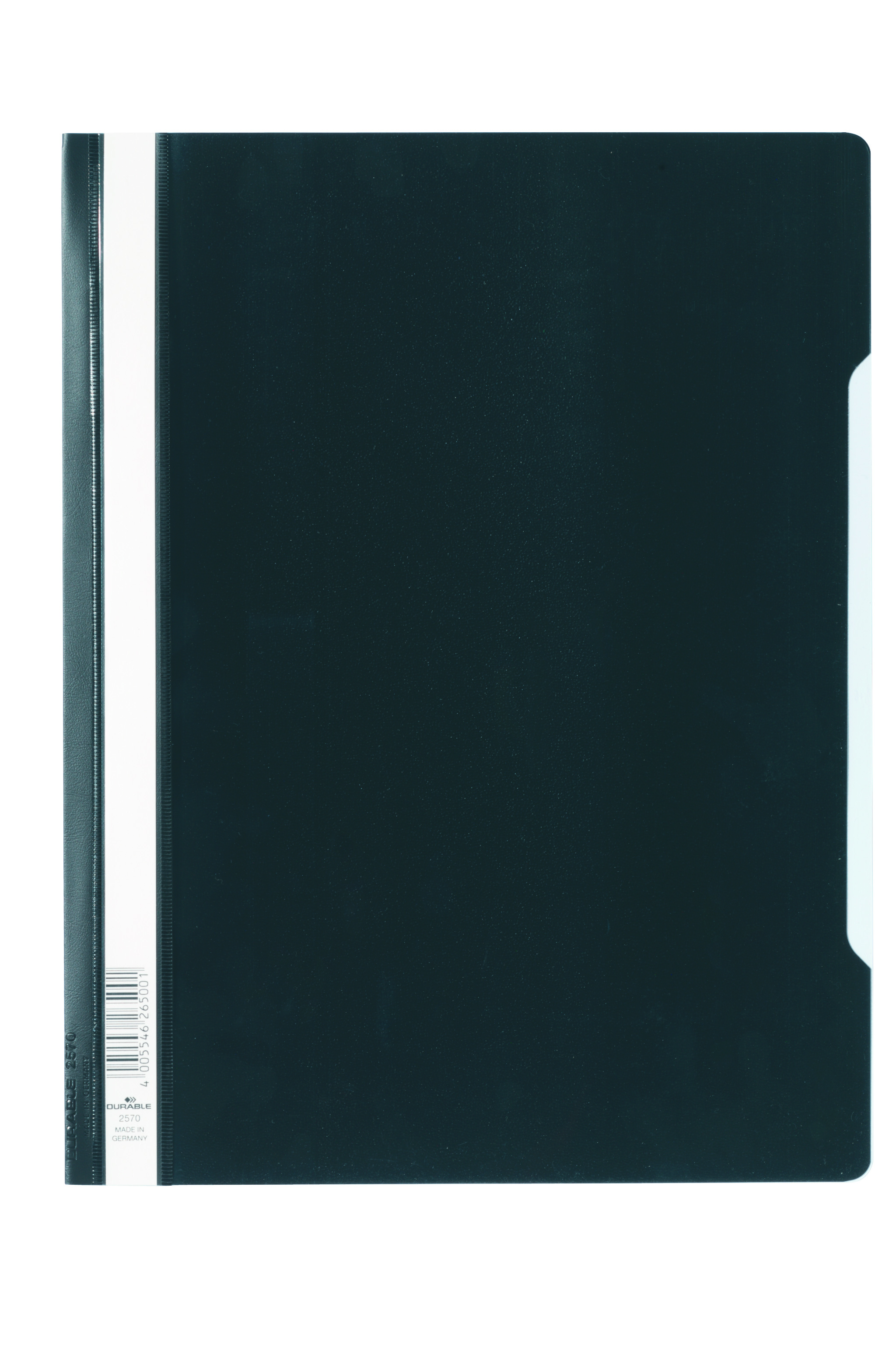 Durable Clear View Report Folder ExWide A4 Blk 257001 (PK50)