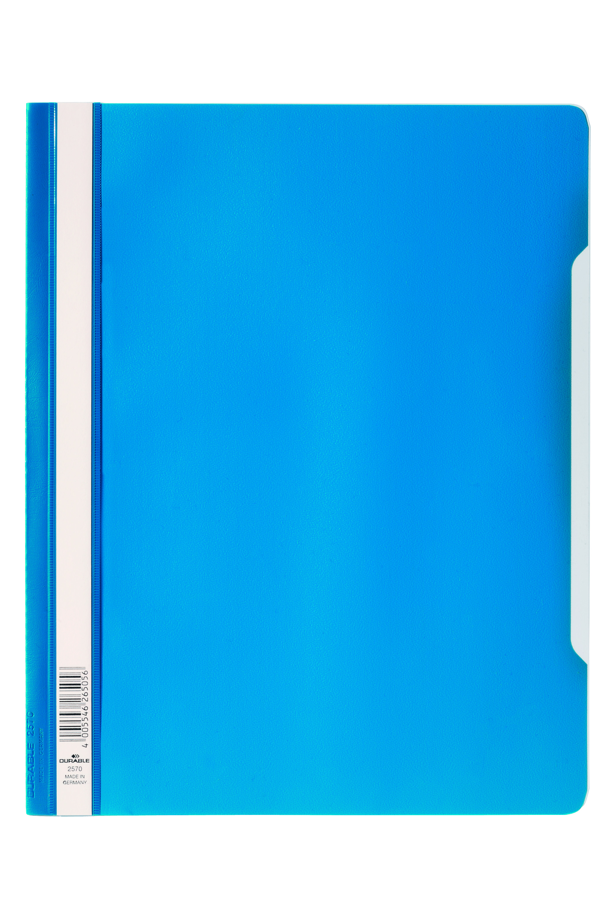 Durable Clear View Report Folder ExWide A4 Blu 257006 (PK50)