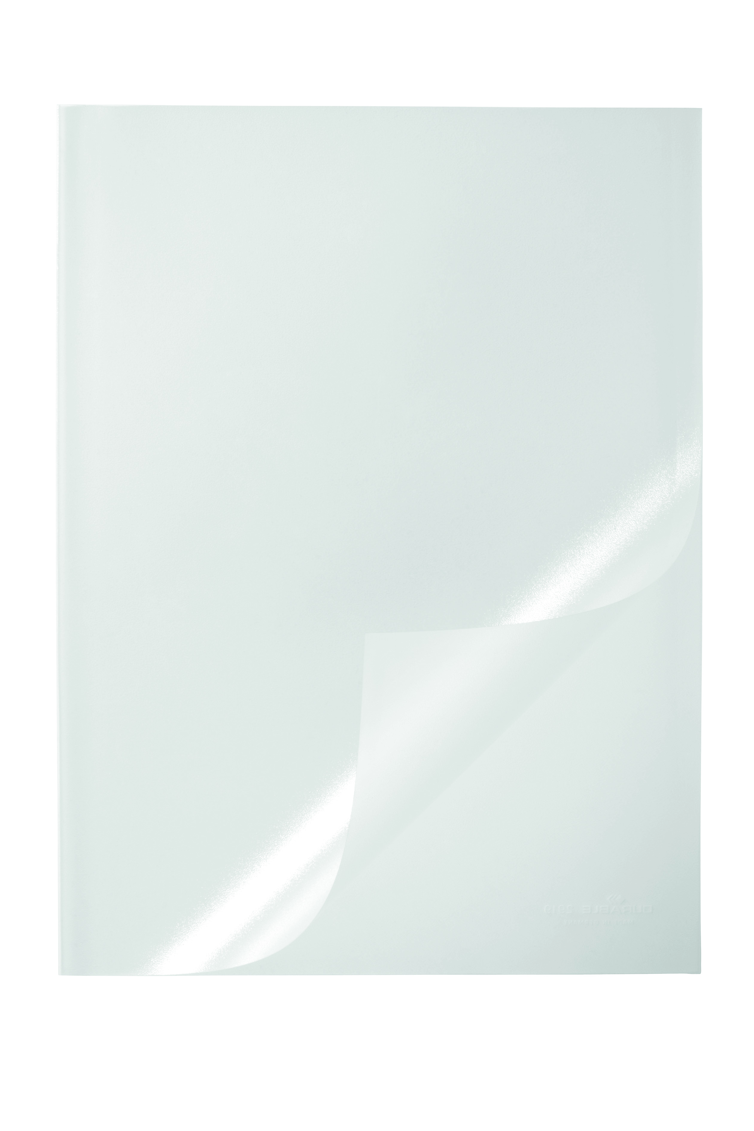 Durable Report Cover PVC A4 Clear Pack 50