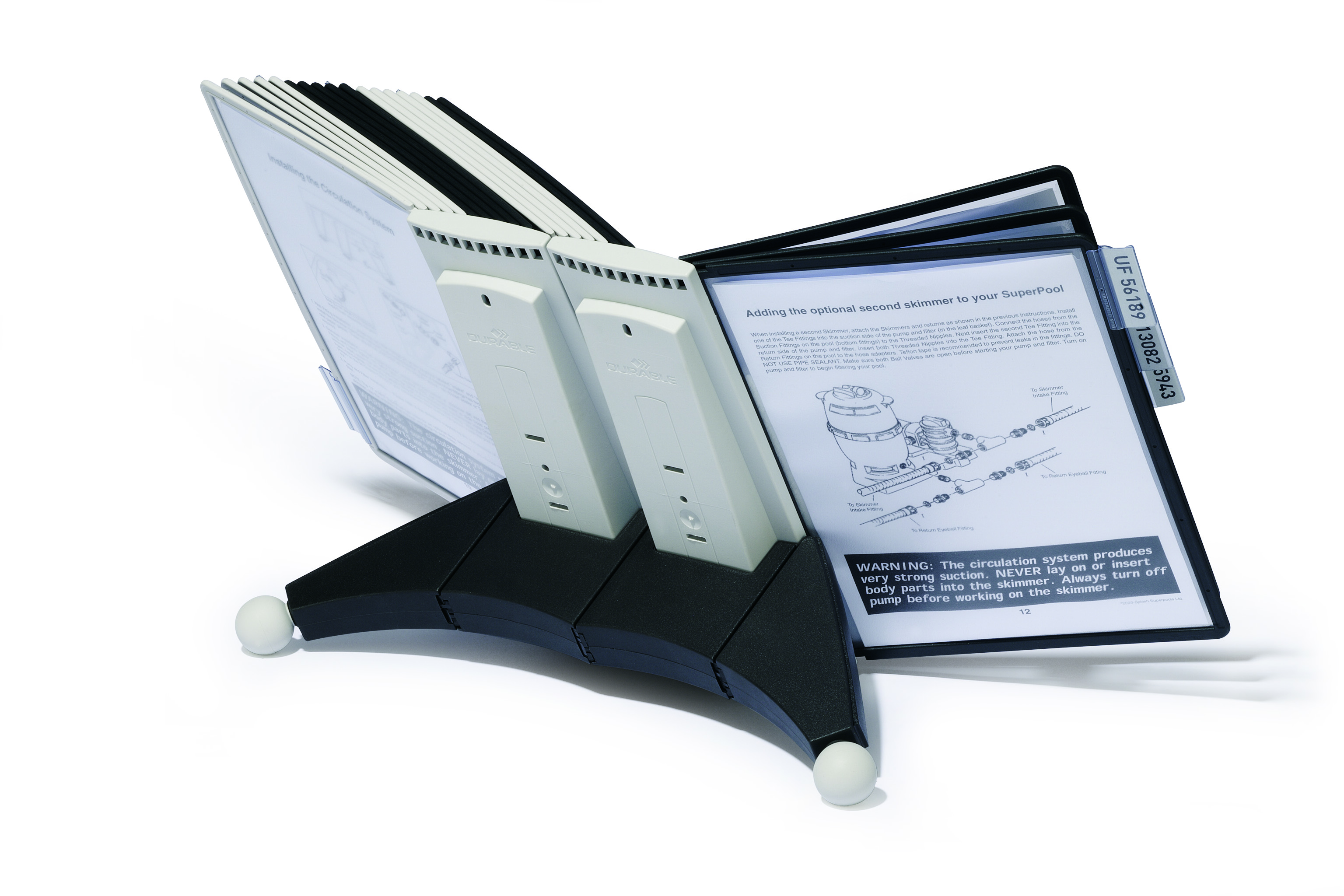 Durable Sherpa Display System Desk 20 Panel 551922