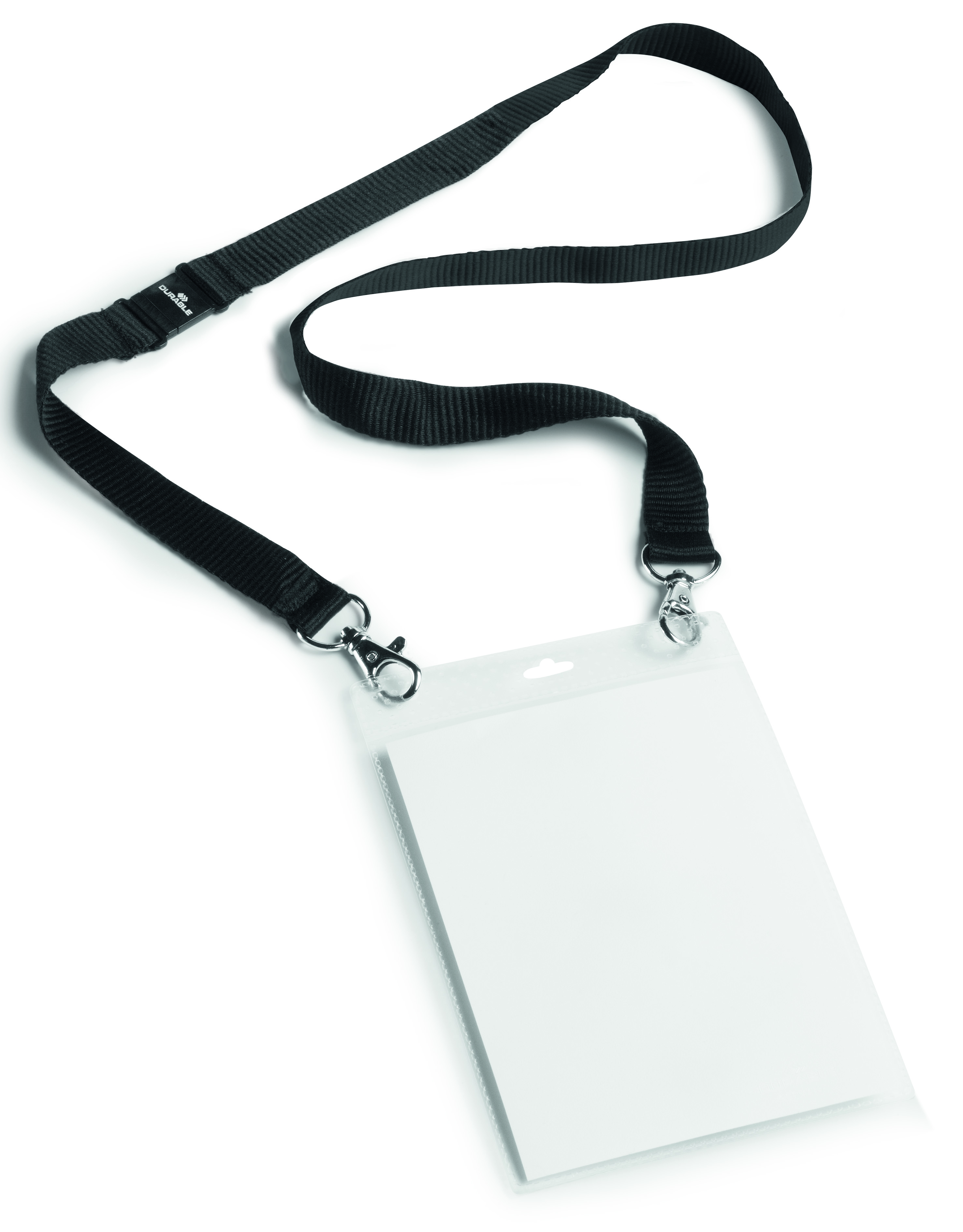 Durable Event Name Badge A6 Black