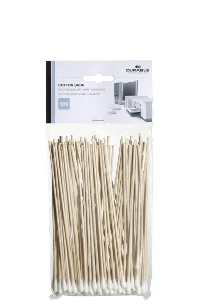Multipurpose Durable Cotton Buds Extra Long 578902 (PK100)